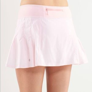 Lululemon Run in the Sun Skirt Skort Blush Quartz